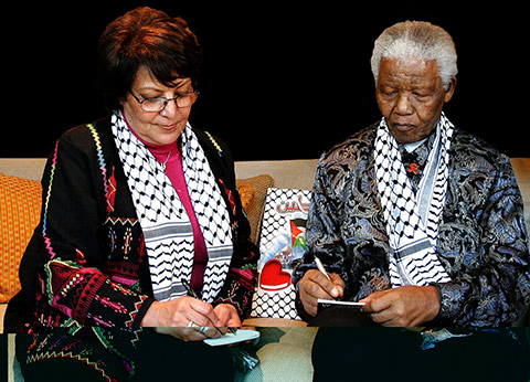 Leila Khaled and Mandela