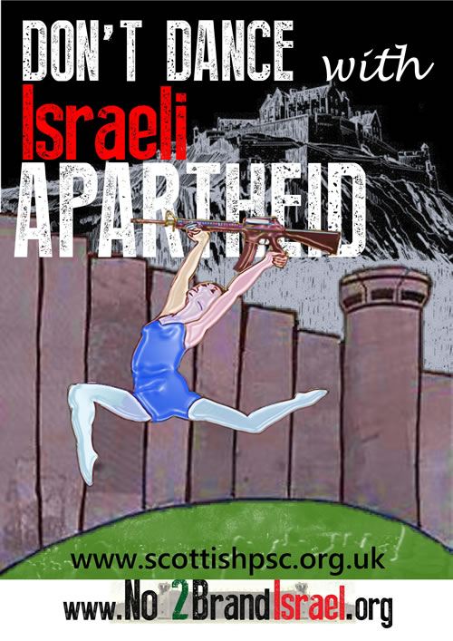 Don't Dance with Israeli Apartheid 2016