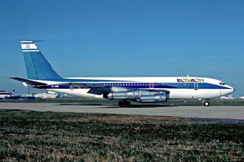 The El Al Boeing 720 attacked by four PFLP fighters