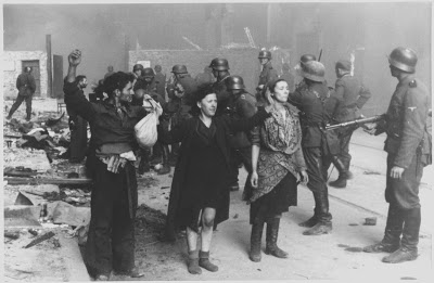Jewish resistance fighters are captured