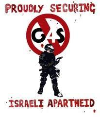 G4S crimes in Palestine involve helping to imprison a whole people