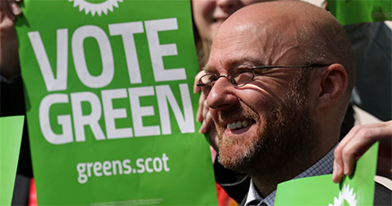 Patrick Harvie, Scottish Green Party