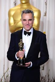 Daniel Day-Lewis collecting the unprecedented third Oscar.  He also saw and told the truth about Israeli child murder Gaza