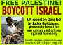 We campaign with others for a mass boycott campaign against the apartheid state of Israel