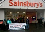 Sainsbury's store Newton Stewart 5 April 2014