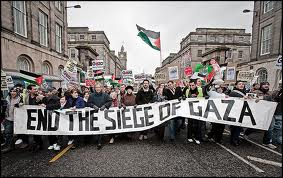 The siege of Gaza, enforced by Israel, Egypt, and the EU