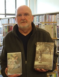 'Israeli authors on library shelves, but a Council boycott of Israeli companies', says Cllr. Jim Bollan