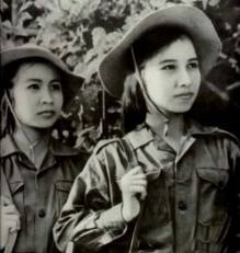 Viet Cong fighters - they humiliated the superpower