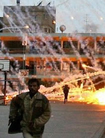 White phosphorous rained on Gaza: Ellman and co. cheered the killers