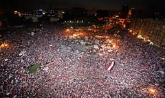 Millions ousted Morsi