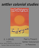Settler Colonial Studies, Vol 2 No 1 (2012)