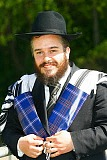Jewish tartan -  adds to the pattern