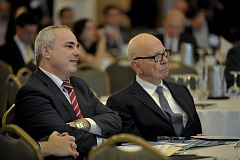 Murdoch and Israeli Finance Minister at Invest Israel Conference 10 Sep 2012
