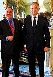 Scottish First Minister Alex Salmond and Taub October 2012