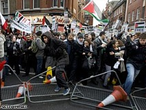 London Gaza protests