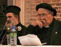 Archbishop Hanna and Fr. Musallam