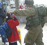Israeli soldiers attacks schoolgirls